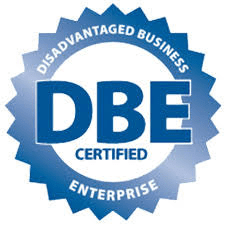 We are now DBE Certified by the US Department of Transportation!
