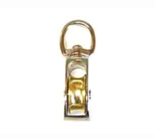 Swivel-eye pulley